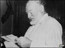 Ernest Hemingway (file image)