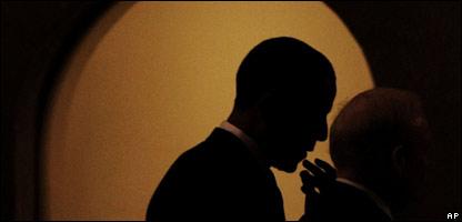 Retrato de Barack Obama.