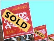 Home sold signs