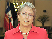 Michelle Bachelet         Foto: Gobierno de Chile