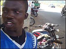 Okada rider in Abuja [file photo]