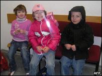 Los tres niños alemanes que querían llegar a África.