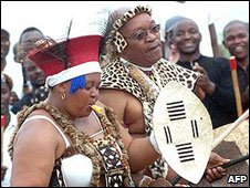 Jacob Zuma's wedding last year