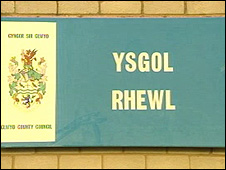 Ysgol Rhewl near Ruthin