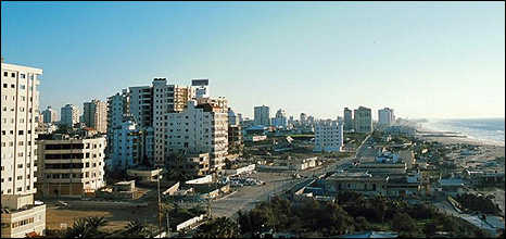 Gaza City skyline