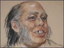 Artist's impression of M45 murder victim