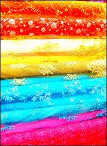 A fabric display
