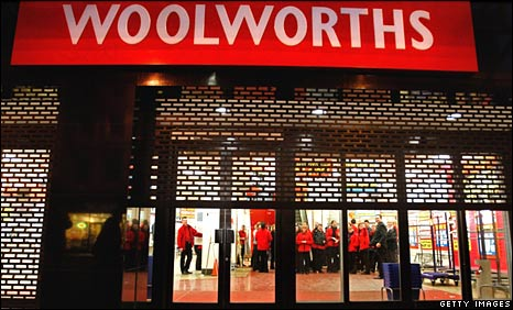 Woolworths in Argyle St, Glasgow, closes the shutters for good