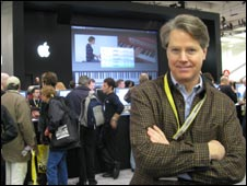 Mark Higbie at Macworld