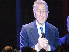 Tony Bennet at Macworld