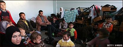 Refugiados palestinos en la Franja de Gaza