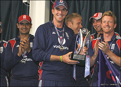 Kevin Pietersen and the successful England one-day team