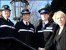 Members of the force's Lesbian, Gay, Bisexual and Transgendered Resource Group [pic: Hants police]