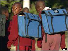 Zimbabwe pupils
