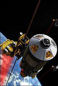 Ilustración de un prototipo de ascensor espacial / Imagen: Eurospaceward