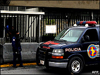 Policía en Monterrey