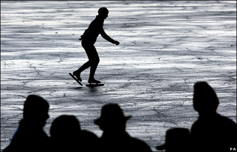 Skater in Earith, Cambridgeshire