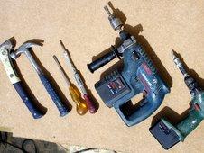 Carpenter's tools (BBC)