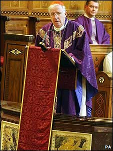 Cardinal Cormac Murphy-O'Connor in 2004