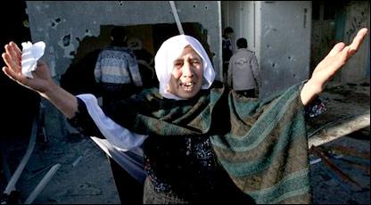 Палестинская женщина
