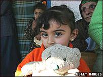 Ni�a en Gaza