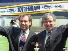 Alan Sugar of Amstrad, and Terry Venables