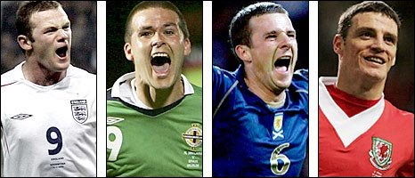and's Barry Ferguson and Wales' Jason Koumas