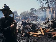 Scene of Mumbai blasts in 1993