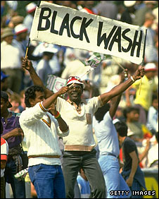 West Indian fans in England, 1984