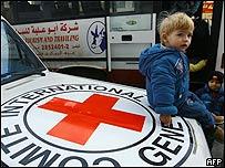 Comité Internacional de la Cruz Roja en Gaza