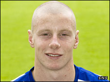 Kilmarnock striker Scott Anson