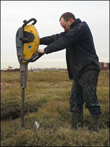 Drilling cores (BBC)