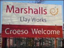 Marshalls plant, Llay