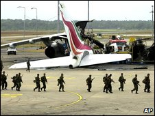 Destroyed the tail of a destroyed Sri Lankan Airlines Airbus aircraft  after 2001 Tamil Tiger attack at Colombo airport