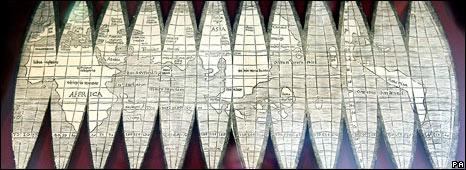 A rare copy of a 16th century map