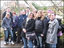 Animal Management students from Filton College