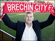 New Brechin boss Jim Duffy