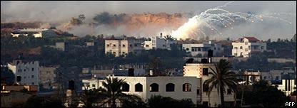 Explosiones en la Franja de Gaza