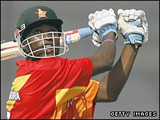 Elton Chigumbura hits out for Zimbabwe against Bangladesh on Saturday