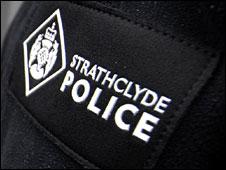 Strathclyde Police badge