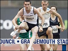 Andrew Lemoncello in the Bank of Scotland Cup at Grangemouth in 2008