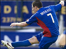 Filipe Morais was on target for Inverness