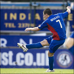 Filip Morais fires Inverness ahead