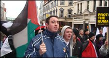 Rally in Belfast