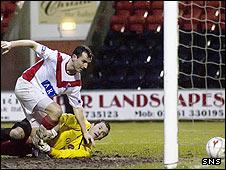 Simon Lynch scored the second goal