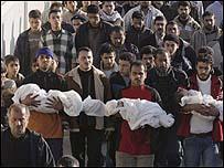 ضحايا من الاطفال في غزة