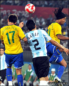 Rafael Sobis and Ronaldinho