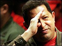 الرئيس الفنزويلي هوجو تشافيز