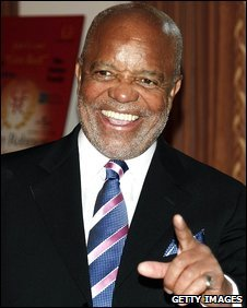 Berry Gordy in Beverly Hills, California, file pic from April 2008