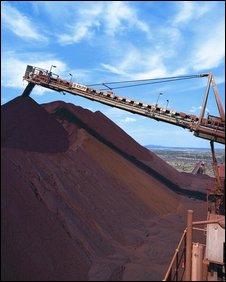Yandicoogina mine, Western Australia